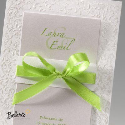 Zaproszenia Bella - Zaproszenie na Slub symbol 725103P 2 bella 400x400