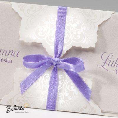 Zaproszenia Bella - Zaproszenie na Slub symbol 725108P 2 bella 400x400
