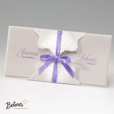 Zaproszenia Bella - Zaproszenie na Slub symbol 725108P bella 400x400