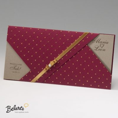 Zaproszenia Bella - Zaproszenie na Slub symbol 725120P bella 400x400