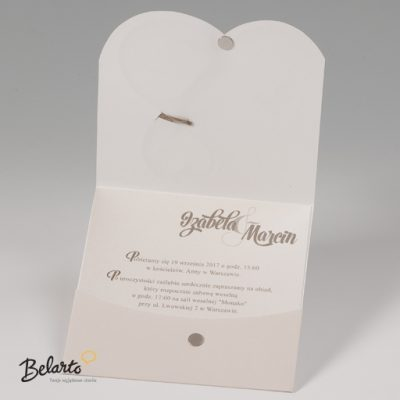 Zaproszenia Bella - Zaproszenie na Slub symbol 725122P 3magneet bella 400x400