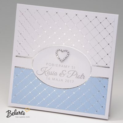 Zaproszenia Bella - Zaproszenie na Slub symbol 725126P bella 400x400