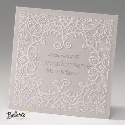 Zaproszenia Bella - Zaproszenie na Slub symbol 725503P bella 400x400