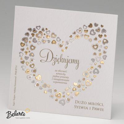Zaproszenia Bella - Zaproszenie na Slub symbol 725518P 2 bella 400x400