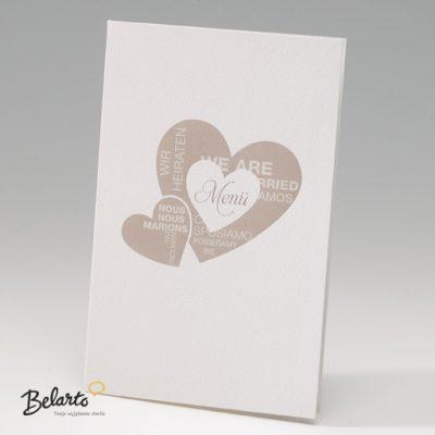 Zaproszenia Bella - Zaproszenie na Slub symbol 725622P bella 400x400
