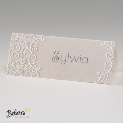 Zaproszenia Bella - Zaproszenie na Slub symbol 725703P 2 bella 400x400