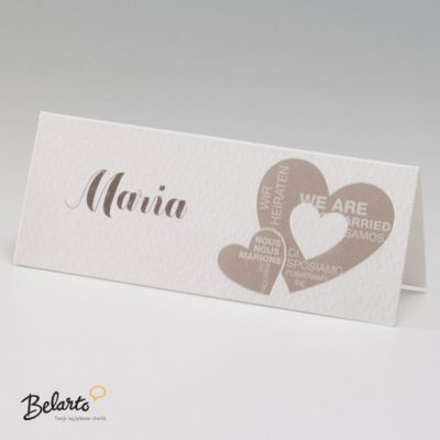Zaproszenia Bella - Zaproszenie na Slub symbol 725722 bella 400x400