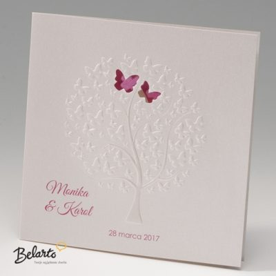 Zaproszenia Bella - Zaproszenie na Slub symbol 725907P bella 400x400