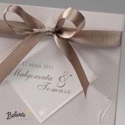 Zaproszenia Bella - Zaproszenie na Slub symbol 725913P 2 bella 400x400