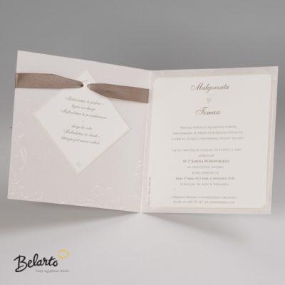 Zaproszenia Bella - Zaproszenie na Slub symbol 725913P 3 bella 400x400