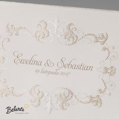 Zaproszenia Bella - Zaproszenie na Slub symbol 725924P 2 bella 400x400