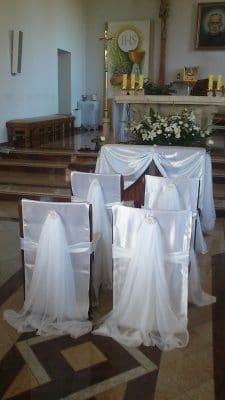 Dekoracja kościoła na ślub - galeria 500 225x400