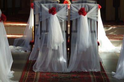 Dekoracja kościoła na ślub - galeria 505 400x267