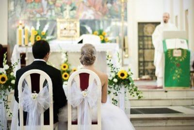 Dekoracja kościoła na ślub - galeria 508 400x268