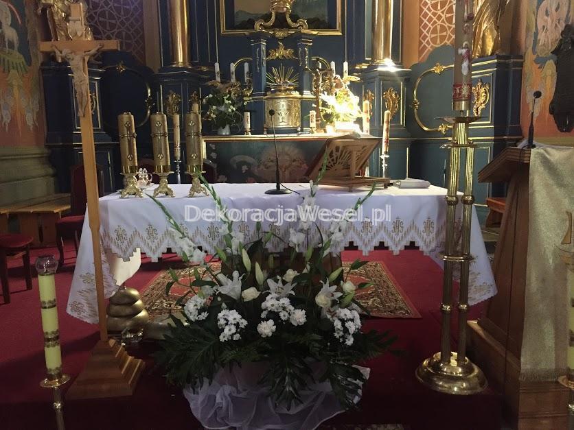 Dekoracje Sal Weselnych i Kościołów Sandomierz i okolice -  - Kościół Piotra i Pawła w Obrazowie 3
