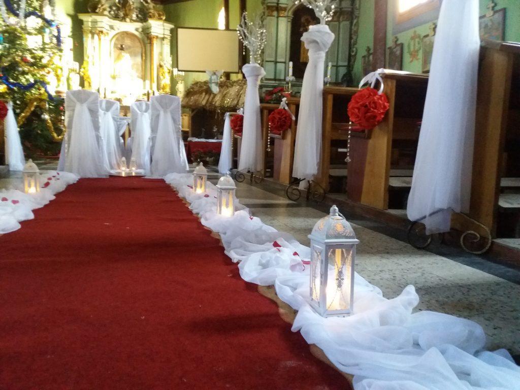 Dekoracja kościoła na ślub -  - 20170107 132213 1024x768