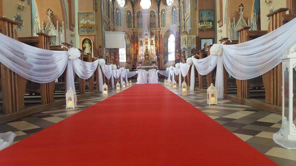 Dekoracja kościoła na ślub -  - 20180616 134435 1024x576
