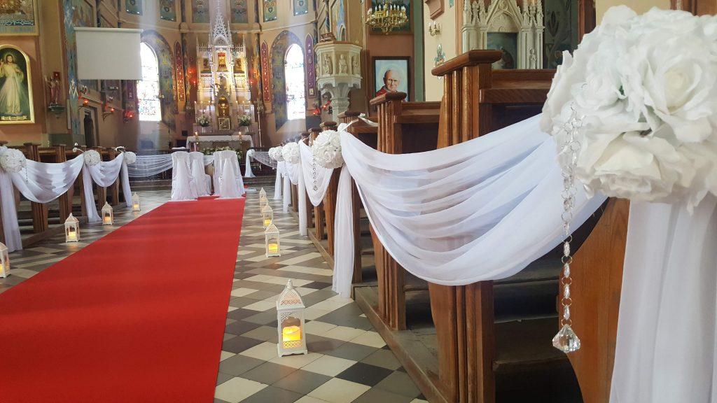 Dekoracja kościoła na ślub -  - 20180616 134448 1024x576