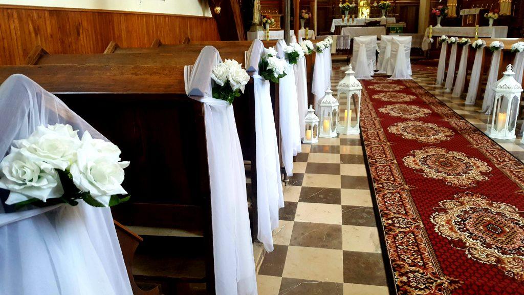 Dekoracja kościoła na ślub -  - 20200130 202038 1024x576