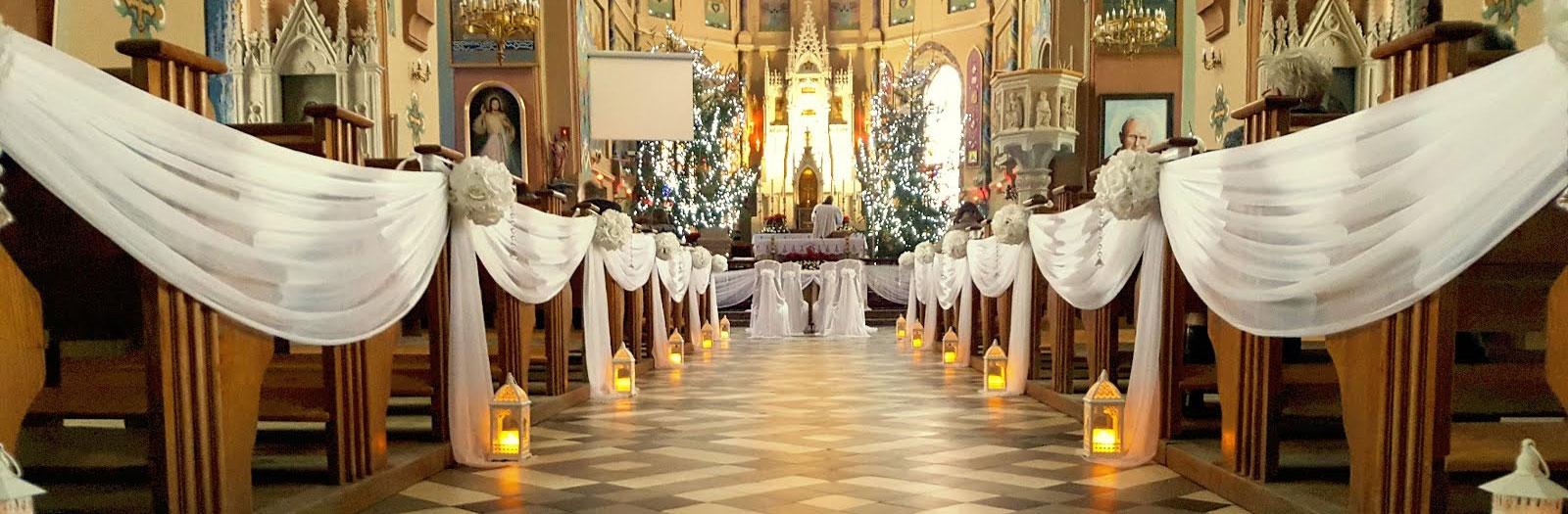 Dekoracja kościoła na ślub -  - slide3